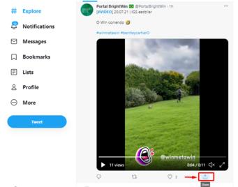 Download Twitter Videos Using Bitdownloader