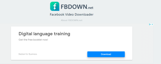 How Does FBDown Make Money?