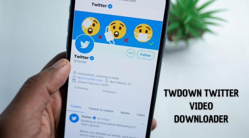 TWDown Twitter video downloader